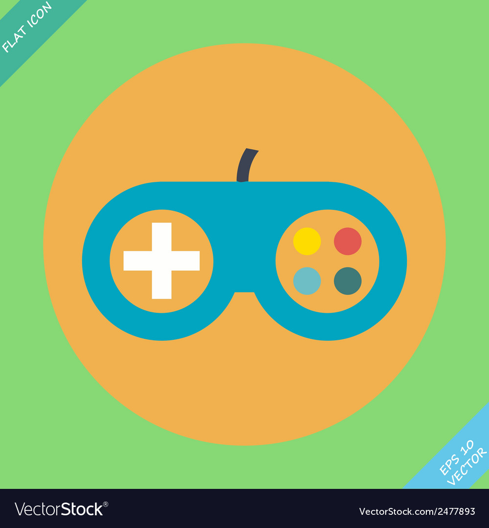 Game controller icon - vector   Price: 1 Credit (USD $1)