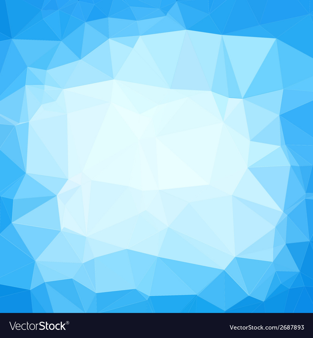 Triangle neutral blue and white abstract vector | Price: 1 Credit (USD $1)