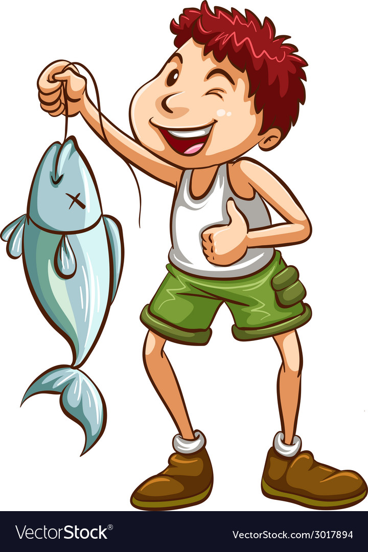 Fishing vector | Price: 1 Credit (USD $1)