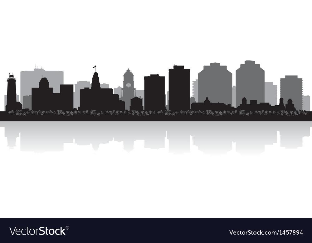 Halifax canada city skyline silhouette vector | Price: 1 Credit (USD $1)