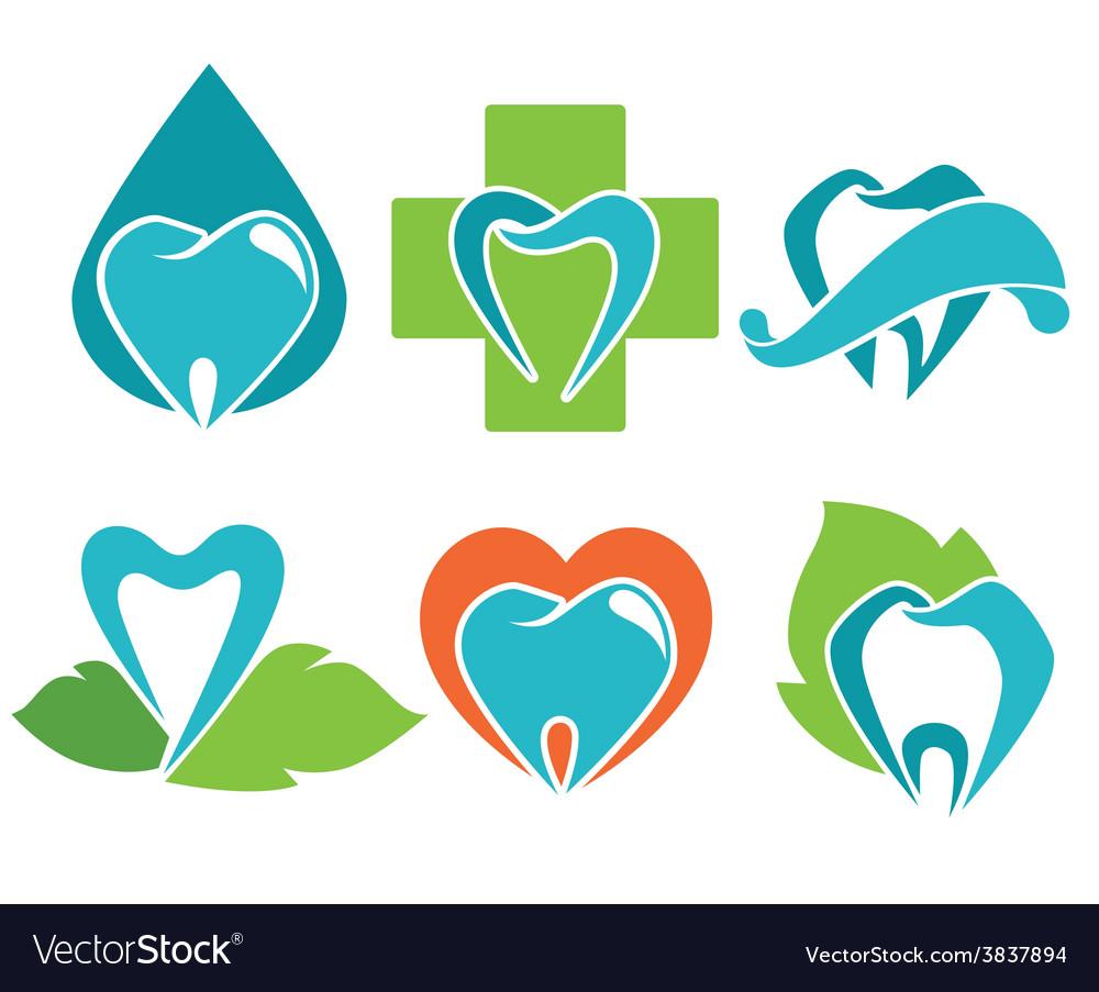 Health teeth vector | Price: 1 Credit (USD $1)
