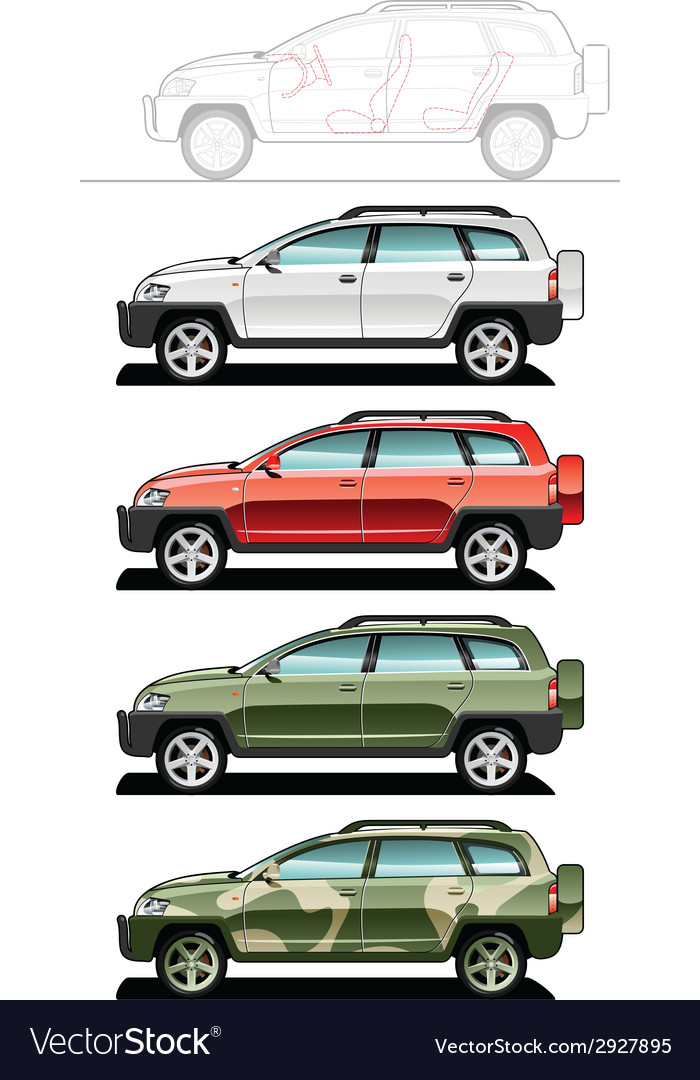 All-road vehicle vector | Price: 3 Credit (USD $3)