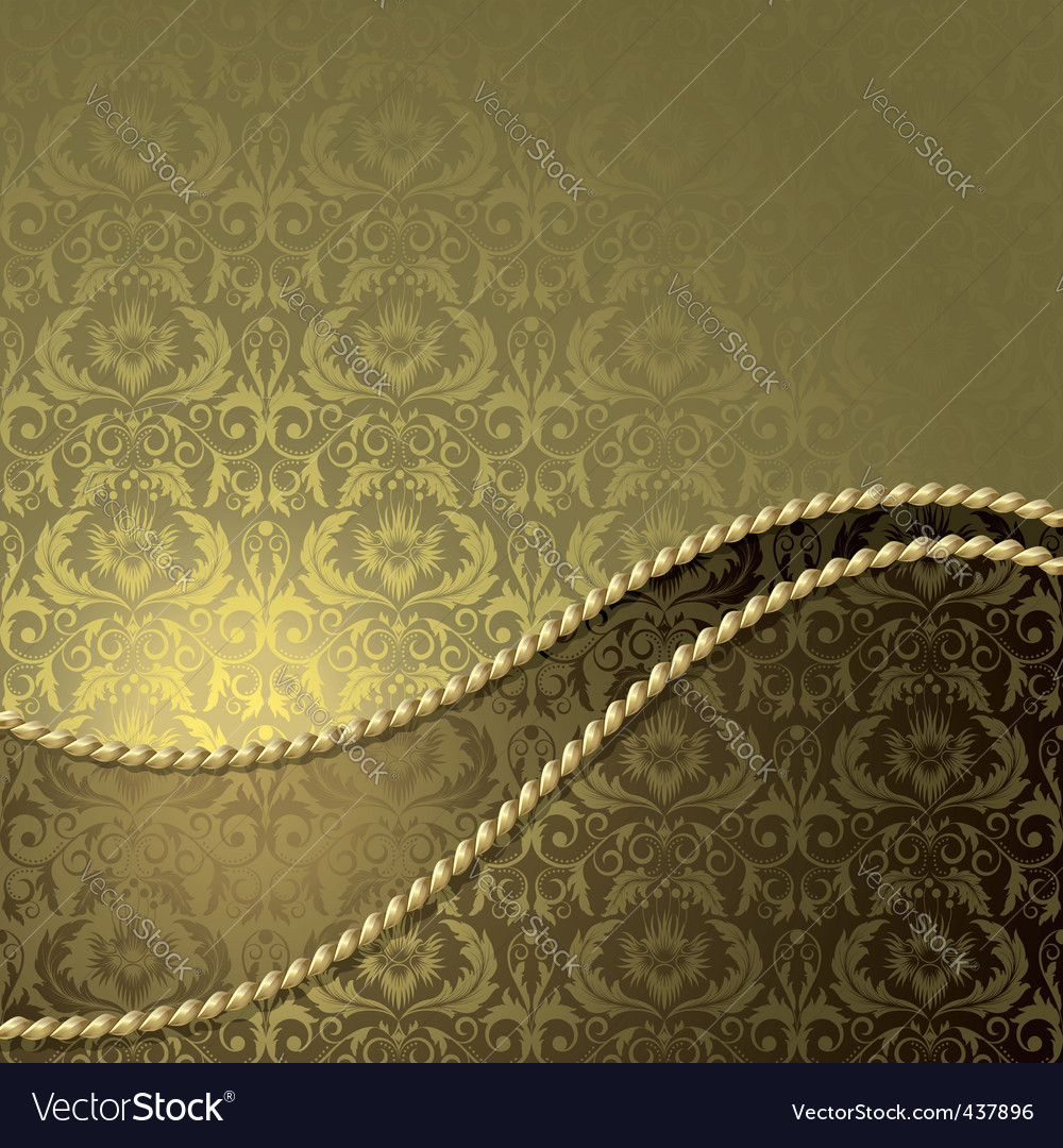 Gold border vector | Price: 1 Credit (USD $1)