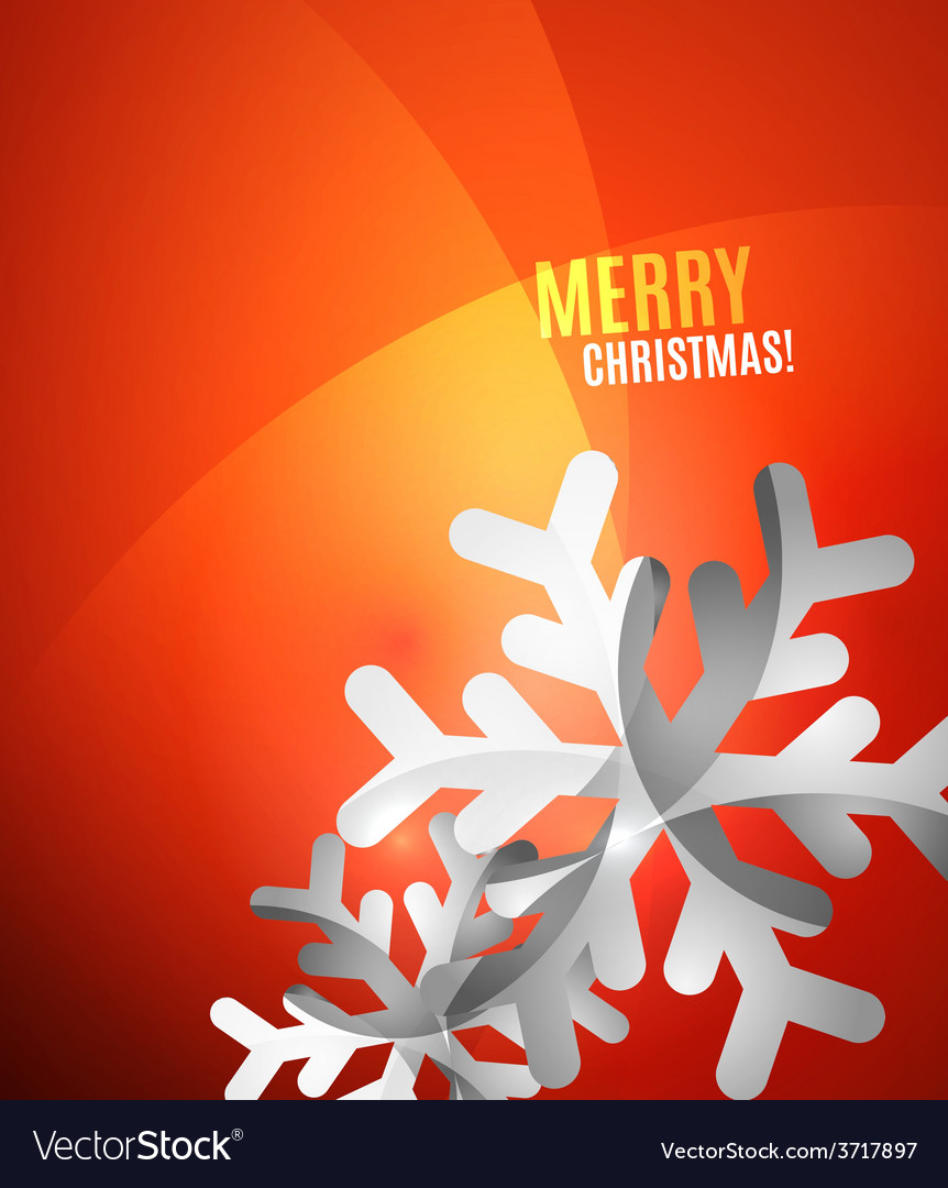 Modern abstract christmas card vector | Price: 1 Credit (USD $1)