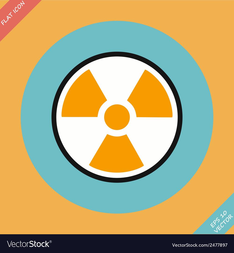 Radiation sign - vector   Price: 1 Credit (USD $1)