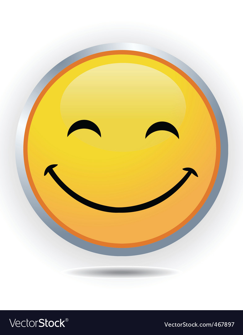 Smiley face vector | Price: 1 Credit (USD $1)