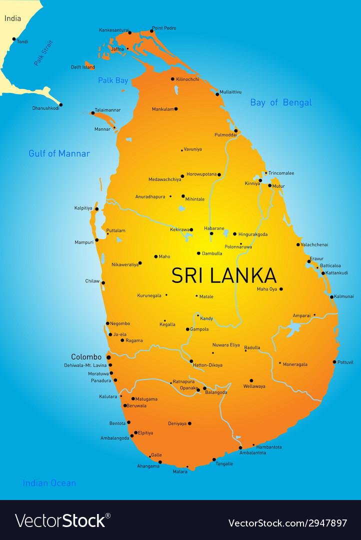Sri lanka vector   Price: 1 Credit (USD $1)