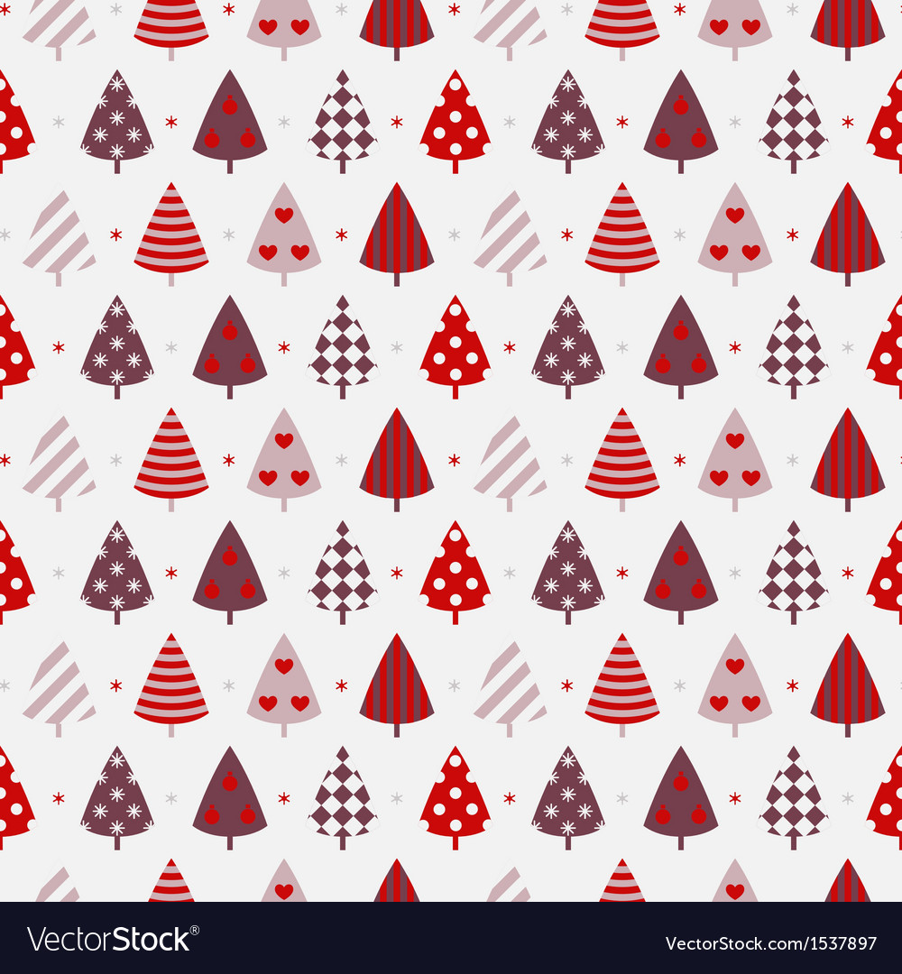 Winter celebration seamless background vector | Price: 1 Credit (USD $1)