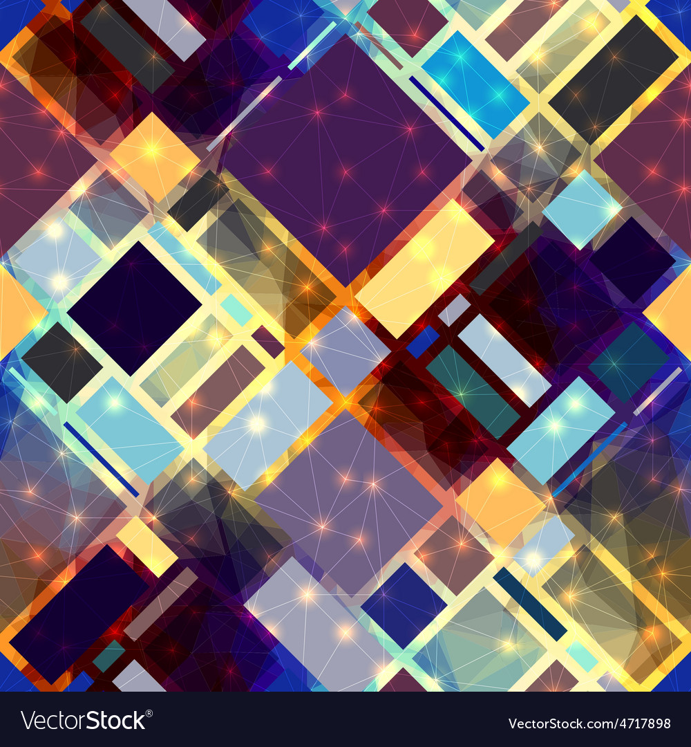 Diagonal geometric pattern with luminous elements vector | Price: 1 Credit (USD $1)
