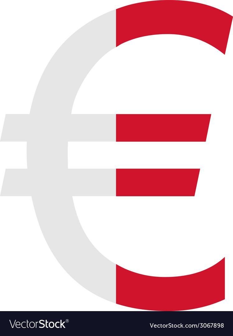 Maltese euro vector   Price: 1 Credit (USD $1)