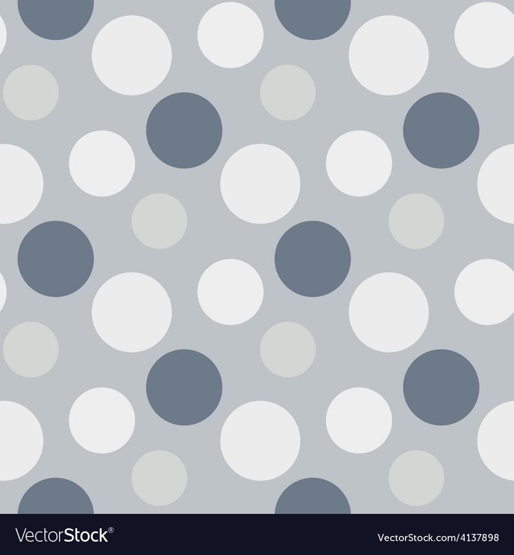 Pattern with green grey polka dots vector   Price: 1 Credit (USD $1)