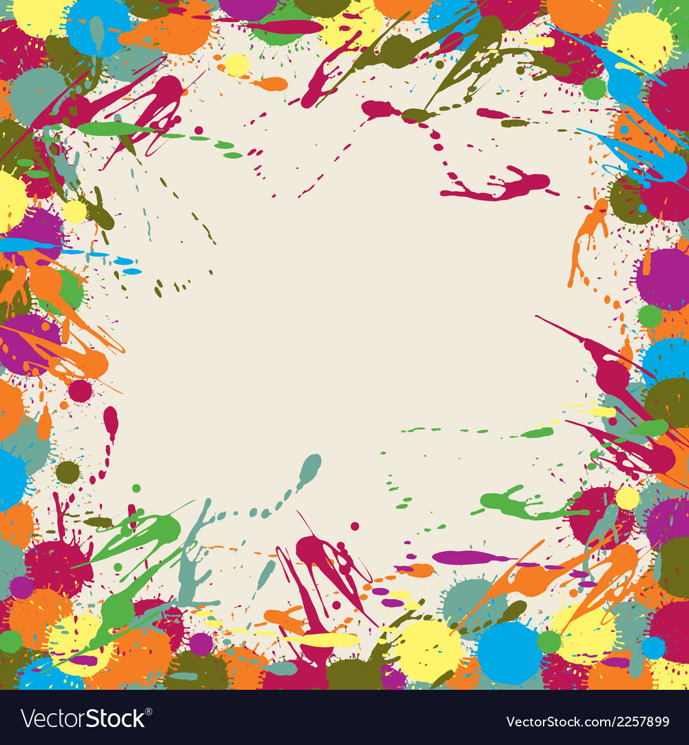 Abstract artistic background blots vector | Price: 1 Credit (USD $1)