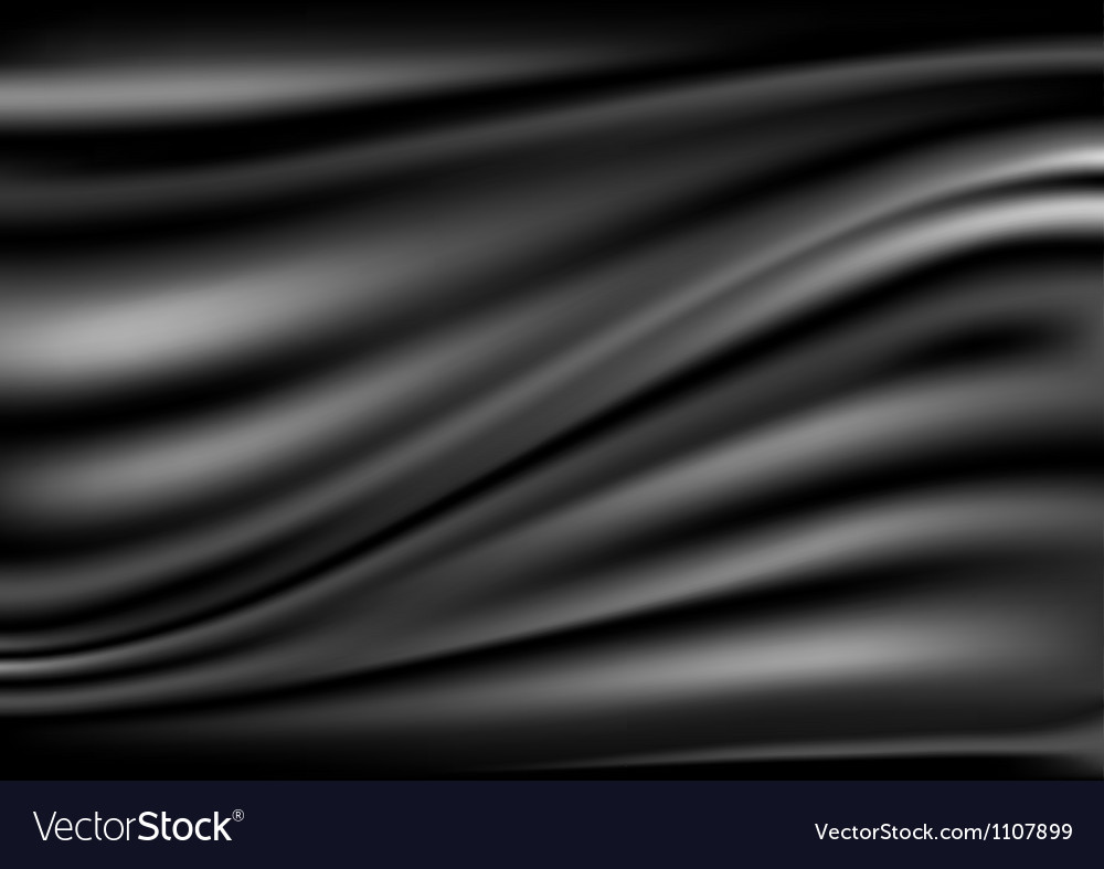 Black abstract satin curtain background vector | Price: 1 Credit (USD $1)