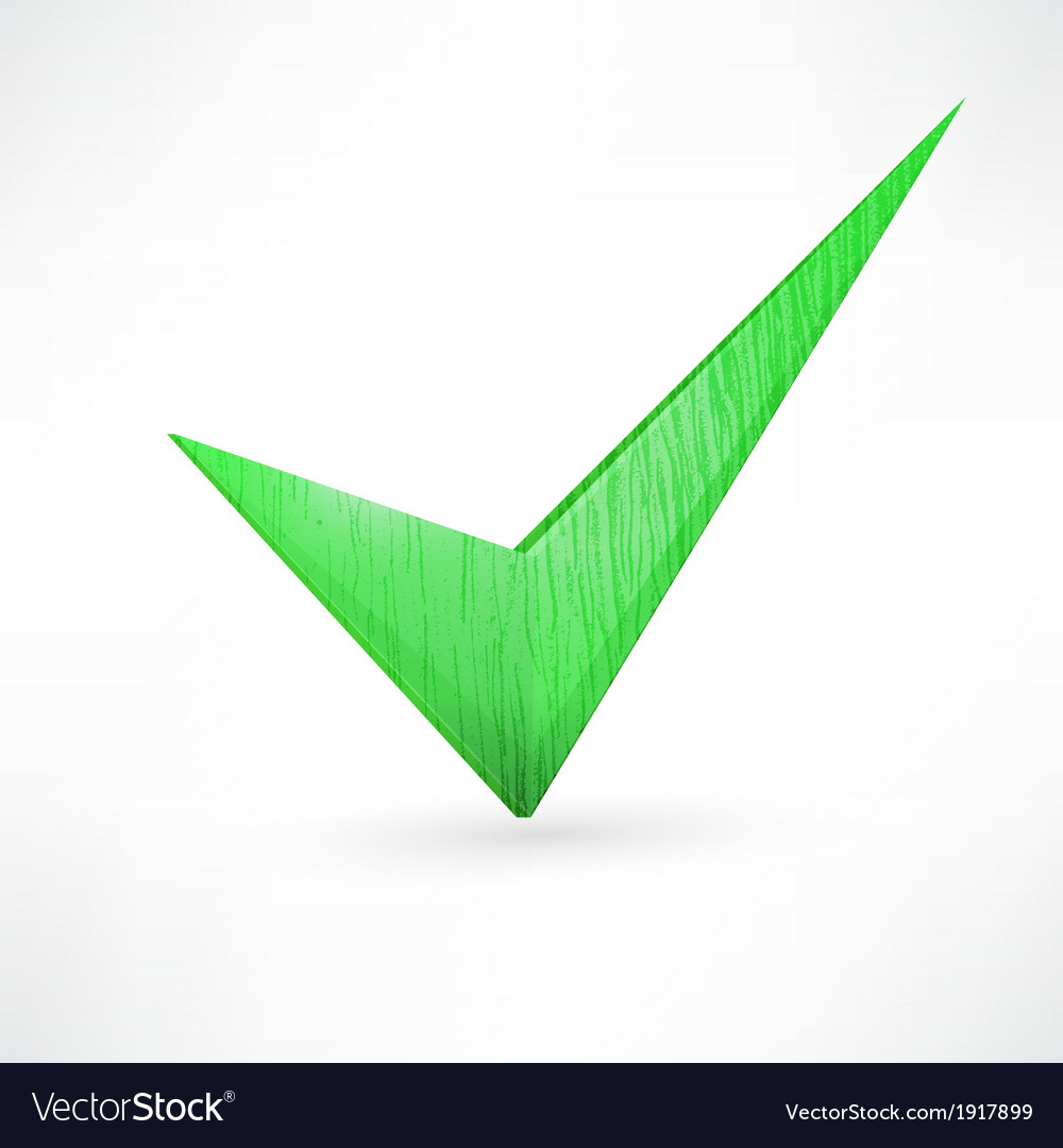 Green checkmark vector | Price: 1 Credit (USD $1)