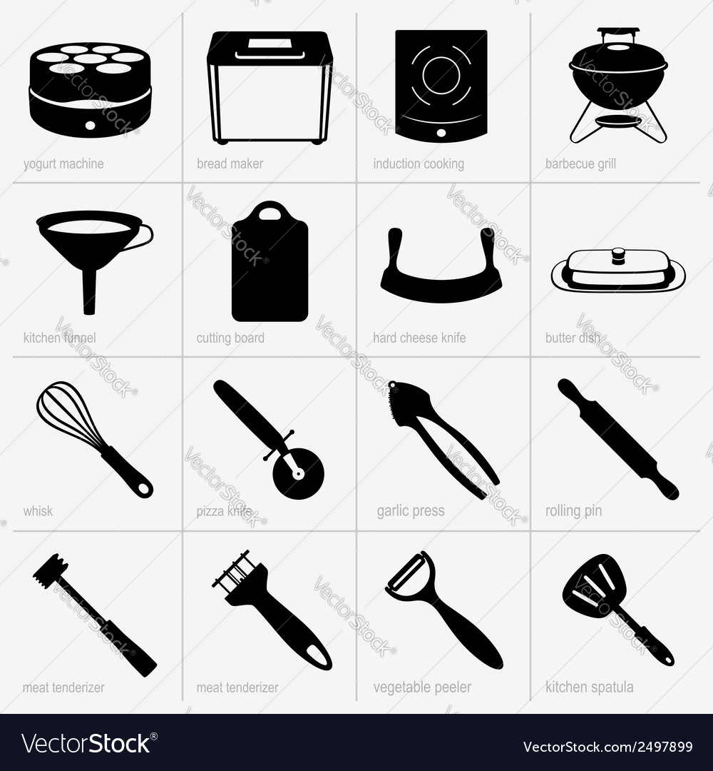 Kitchenware vector | Price: 1 Credit (USD $1)