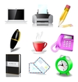 Office and document icon set vector