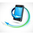 Futuristic cellphone vector