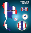 Thailand thime vector