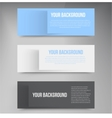 Banners and squares color vector