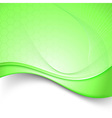 Fresh eco corporate abstract folder template vector