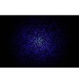Blue geometric flash 10 eps vector