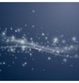 Sparkling bright swoosh wave background vector