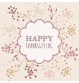Thanksgiving greeting cards vector