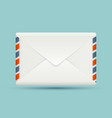 Blank envelope vector