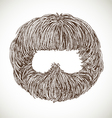 Neat beard vector
