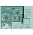 Dandelion forest vector