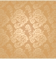 Seamless pattern ornament floral background vector