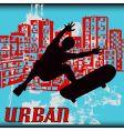 Urban skater vector