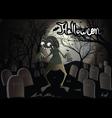 Halloween zombie vector
