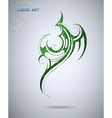 Abstract tribal design vector