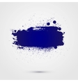 Abstract background colorful paint banner vector