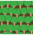 Happy squirrels pattern vector