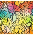 Seamless pattern with bright colorful hand drawn vector