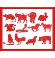 Chinese horoscope vector
