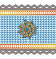 Color spiderweb art vector