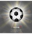 Soccer ball web icon flat design vector