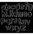 Small letters vector