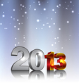 New 2013 3d year numbers vector