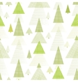Abstract pine tree forest seamless pattern vector