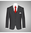 Business suit concept vector