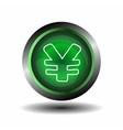 Yen sign internet icon vector