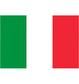 Italian flag vector