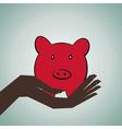 Saving money concept vector
