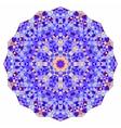 Digital mosaic circle creative colorful style vector