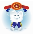 Champion tooth vector