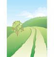 Road nature vector
